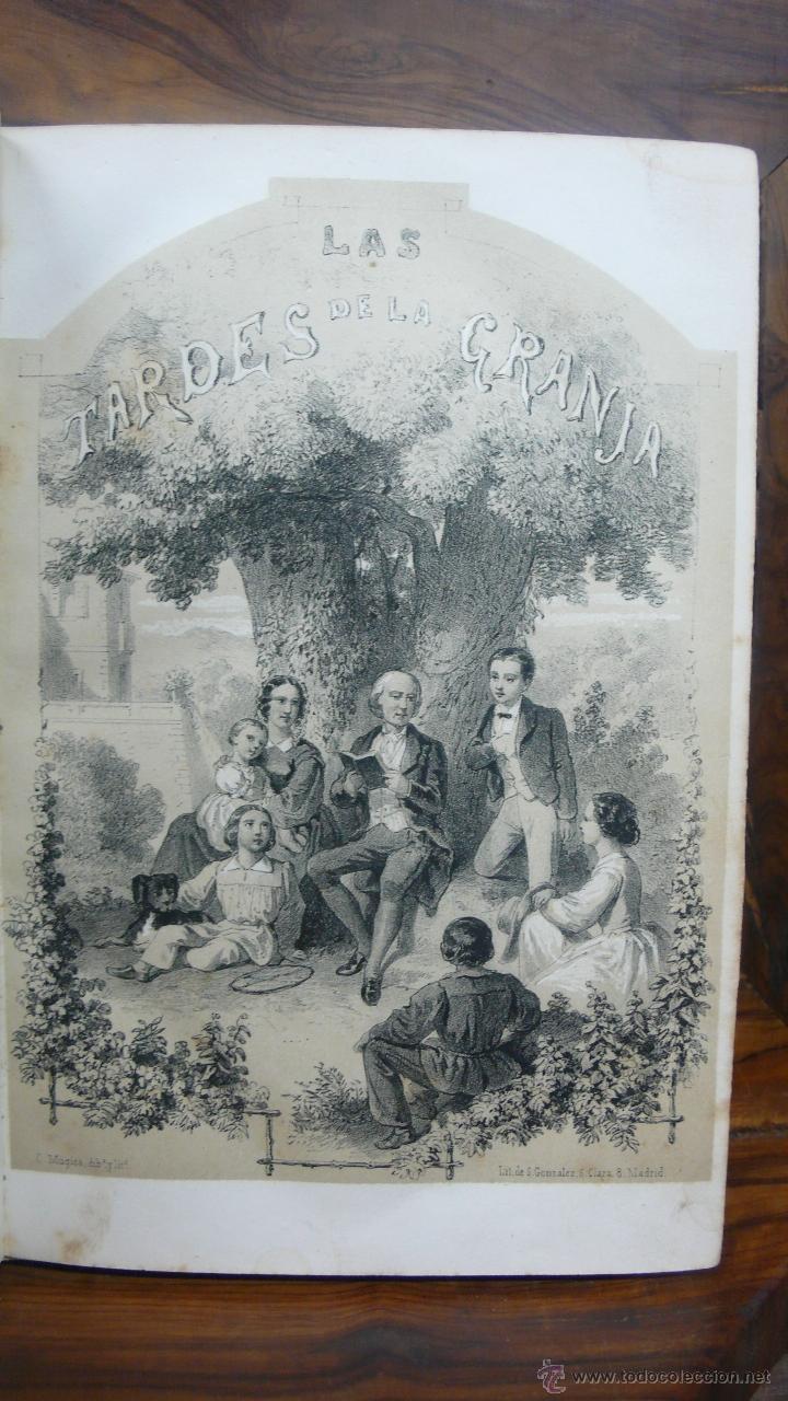 Libros antiguos: LAS TARDES DE LA GRANJA Ó LECCIONES MORALES É INSTRUCTIVAS... DUCRAY DUMINIL. 1862. - Foto 3 - 52585680