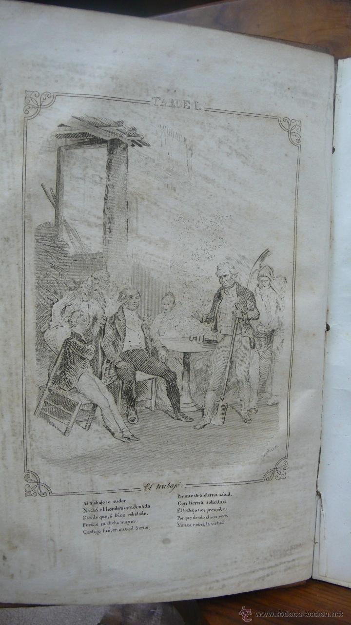 Libros antiguos: LAS TARDES DE LA GRANJA Ó LECCIONES MORALES É INSTRUCTIVAS... DUCRAY DUMINIL. 1862. - Foto 4 - 52585680
