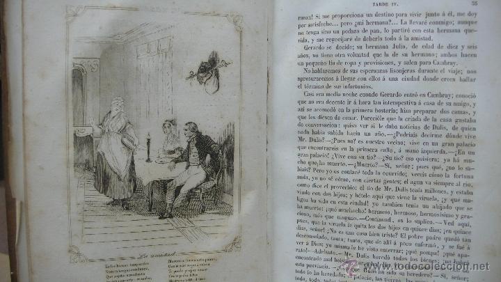 Libros antiguos: LAS TARDES DE LA GRANJA Ó LECCIONES MORALES É INSTRUCTIVAS... DUCRAY DUMINIL. 1862. - Foto 5 - 52585680