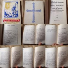 Libros antiguos: LA BATALLA DE COVADONGA E HISTORIA DEL SANTUARIO. PREBISTERO LUCIANO LÓPEZ G. JOVE. Lote 52609426