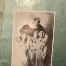 Libros antiguos: ARTE Y CARIDAD, EXPOISICIÓN, COLEGIO IMPERIAL DE LOS NIÑOS HUERFANOS, SAN VICENTE FERRER, VALENCIA. Lote 52610244
