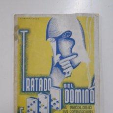 Libros antiguos: TRATADO DEL DOMINO. FLORENCIO HERCE PEREZ. EL RIOJANO. IMPRENTA JALON MENDIRI LOGROÑO 1934 TDK24. Lote 52648332