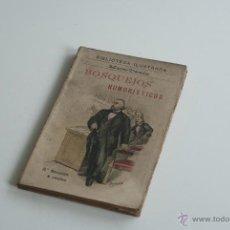 Libros antiguos: BIBLIOTECA ILUSTRADA - BOSQUEJOS HUMORÍSTICOS - MARC-TWAIN. Lote 52650420