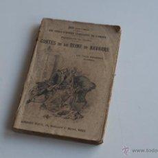 Libros antiguos: CONTES DE LA REINE DE NAVARRE - MARGUERITE DE VALOIS. Lote 52672305
