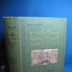 Libros antiguos: LA NUEVA COCINA ELEGANTE ESPAÑOLA. DOMENÉCH, IGNACIO. [1ª ED.] 1915. Lote 52739458