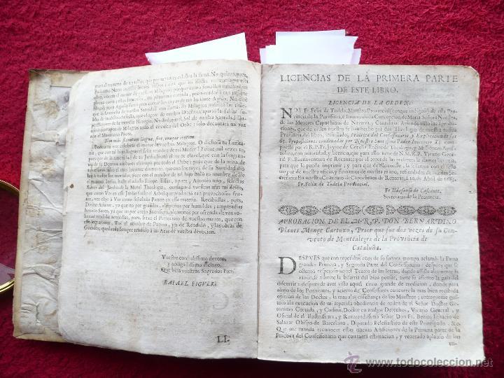 Libros antiguos: PRACTICA DE EL CONFESSONARIO, NONA IMPRESSION, JAYME DE CORELLA, IMPRE. RAFAEL FIGVERO, 1690 - Foto 5 - 52741929