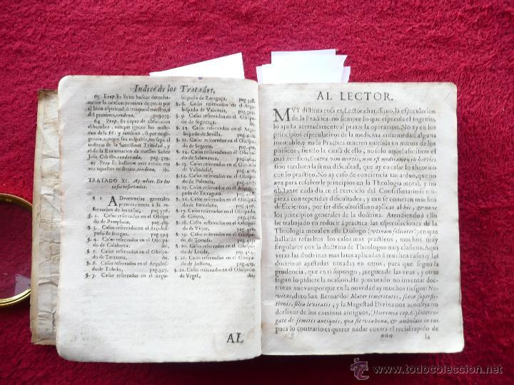 Libros antiguos: PRACTICA DE EL CONFESSONARIO, NONA IMPRESSION, JAYME DE CORELLA, IMPRE. RAFAEL FIGVERO, 1690 - Foto 8 - 52741929