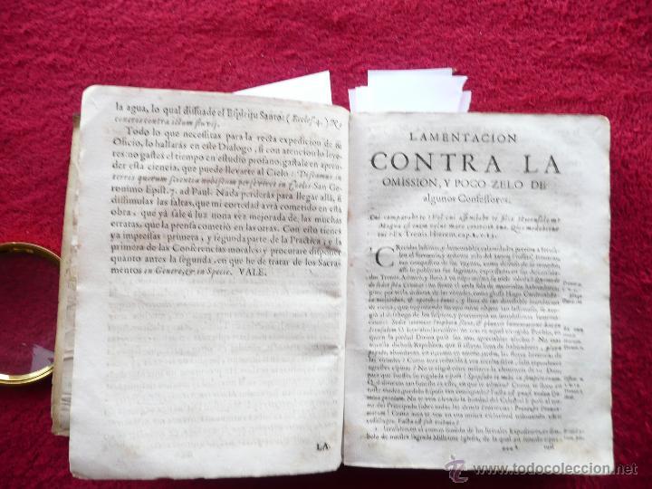 Libros antiguos: PRACTICA DE EL CONFESSONARIO, NONA IMPRESSION, JAYME DE CORELLA, IMPRE. RAFAEL FIGVERO, 1690 - Foto 9 - 52741929