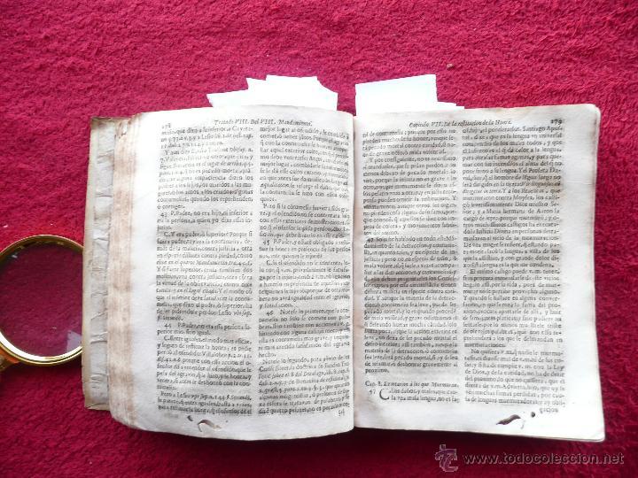 Libros antiguos: PRACTICA DE EL CONFESSONARIO, NONA IMPRESSION, JAYME DE CORELLA, IMPRE. RAFAEL FIGVERO, 1690 - Foto 17 - 52741929