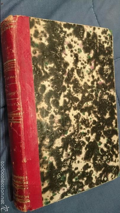 1870 VIAJE POR DEBAJO DE LAS OLAS, REDACTADO SEGÚN EL DIARIO DE A BORDO (EL RELÁMPAGO), 1ª EDICION. (Libros Antiguos, Raros y Curiosos - Ciencias, Manuales y Oficios - Otros)