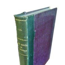 Libros antiguos: TEORIA GENERAL DE LAS MAQUINAS ·· D. ISABELINO LANA ·· CURSO DE 1929- 1930 ·· MANUSCRITO ··TAPA DURA. Lote 52800156