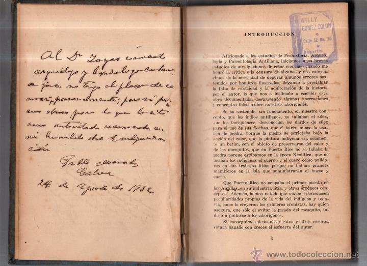Libros antiguos: PUERTO RICO INDIGENA. PREHISTORIA Y PROTOHISTORIA DE PUERTO RICO. PABLO MORALES CABRERA. LEER - Foto 6 - 52808692