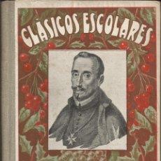 Libros antiguos: LOPE DE VEGA - BIBLIOTECA CLASICOS ESCOLARES Nº 5 - AÑO 1931. Lote 52851627