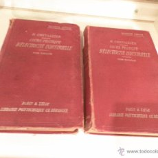 Libros antiguos: COURS PRATIQUE D´ELECTRICITE INDUSTRIELLE. VOLUMEN 1 Y 2 (PARIS, 1920), POR H. CHEVALLIER. Lote 52909937