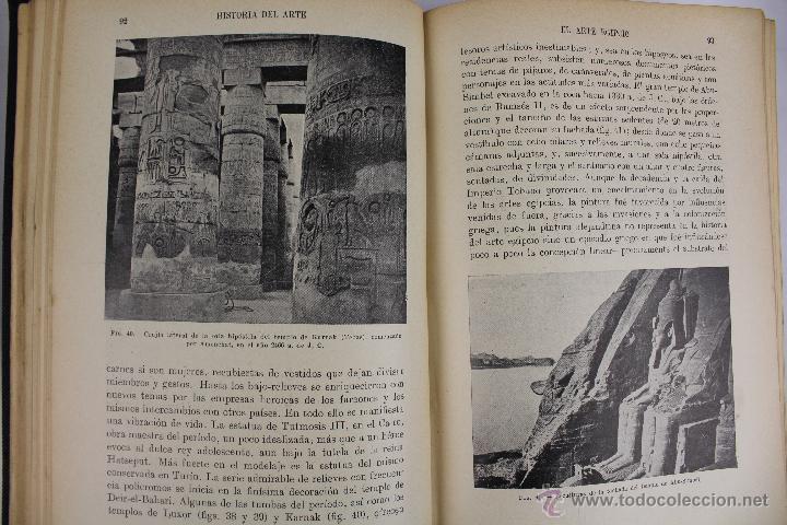 Libros antiguos: L-2798. HISTORIA DEL ARTE. J. F. RAFOLS. BIBLIOTECA HISPANIA. ED. RAMON SOPENA. AÑO 1936. BARCELONA. - Foto 3 - 52939345