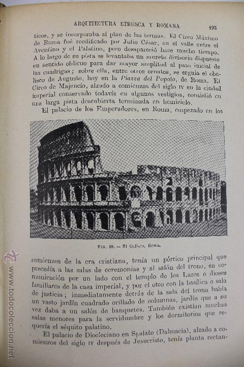 Libros antiguos: L-2798. HISTORIA DEL ARTE. J. F. RAFOLS. BIBLIOTECA HISPANIA. ED. RAMON SOPENA. AÑO 1936. BARCELONA. - Foto 5 - 52939345