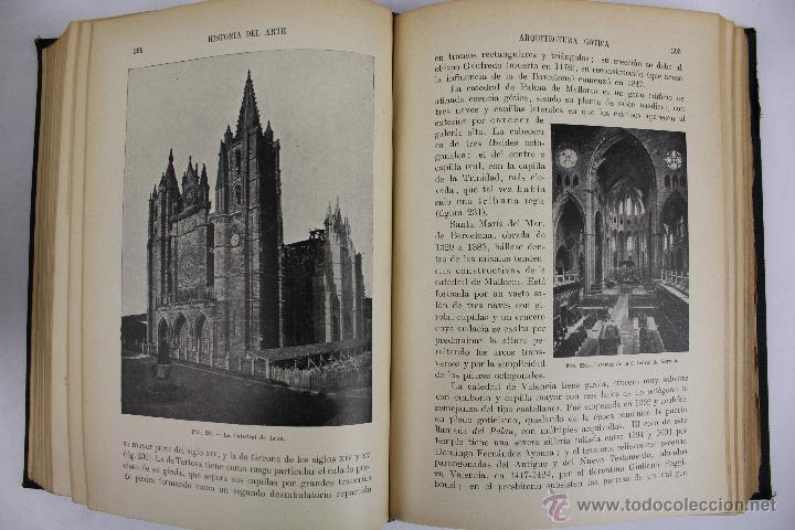 Libros antiguos: L-2798. HISTORIA DEL ARTE. J. F. RAFOLS. BIBLIOTECA HISPANIA. ED. RAMON SOPENA. AÑO 1936. BARCELONA. - Foto 8 - 52939345
