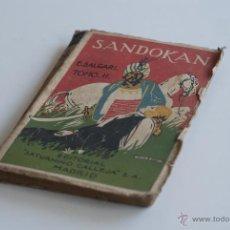 Old books - Novela de aventuras - Sandokan Tomo II - Emilio Salgari - 52977143