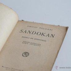 Old books - Novela de aventuras - Sandokan Tomo I - Emilio Salgari - 52977267