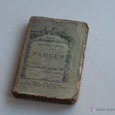 Libros antiguos: FABLES TOME II - LA FONTAINE 1892. Lote 52979161