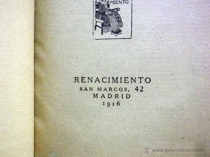 Libros antiguos: LIBRO, AL AMOR DE LAS ESTRELLAS, MUJERES DEL QUIJOTE, CONCHA ESPINA, RENACIMIENTO 1916, 1ª EDICION - Foto 5 - 53004786