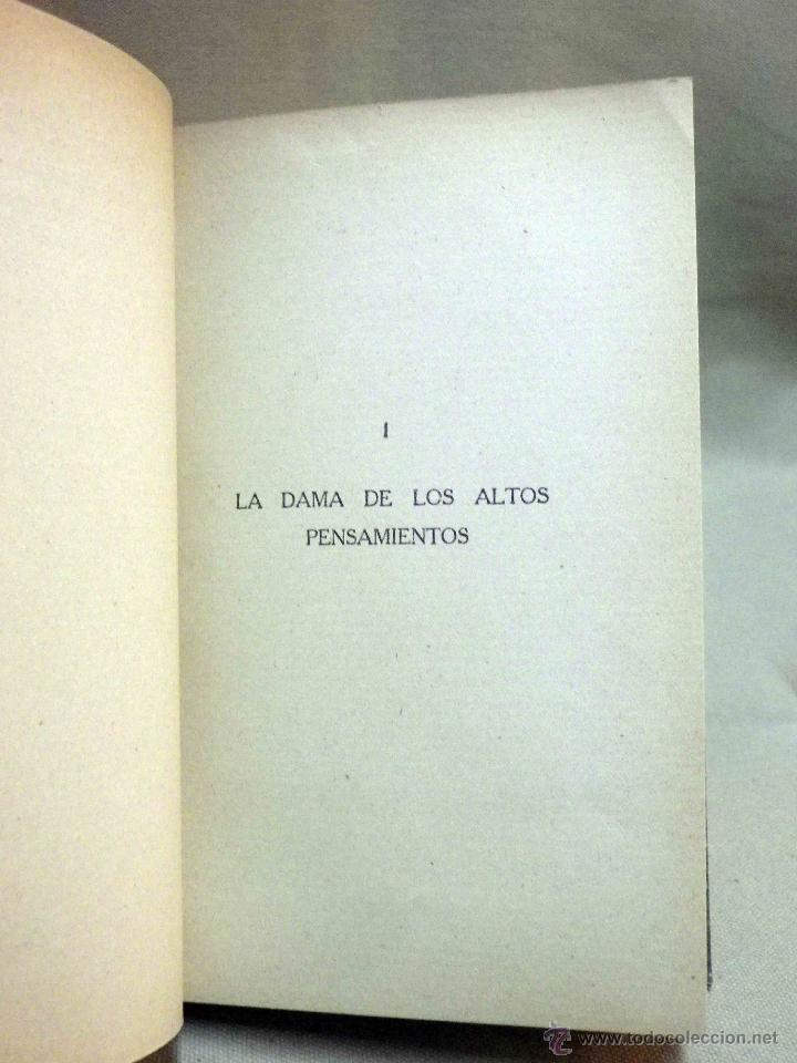 Libros antiguos: LIBRO, AL AMOR DE LAS ESTRELLAS, MUJERES DEL QUIJOTE, CONCHA ESPINA, RENACIMIENTO 1916, 1ª EDICION - Foto 6 - 53004786