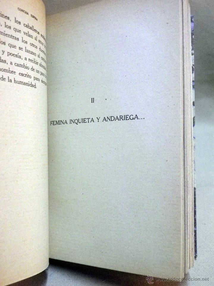 Libros antiguos: LIBRO, AL AMOR DE LAS ESTRELLAS, MUJERES DEL QUIJOTE, CONCHA ESPINA, RENACIMIENTO 1916, 1ª EDICION - Foto 9 - 53004786
