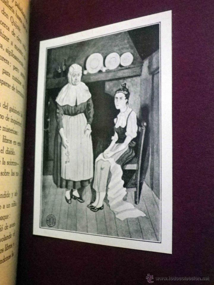 Libros antiguos: LIBRO, AL AMOR DE LAS ESTRELLAS, MUJERES DEL QUIJOTE, CONCHA ESPINA, RENACIMIENTO 1916, 1ª EDICION - Foto 11 - 53004786
