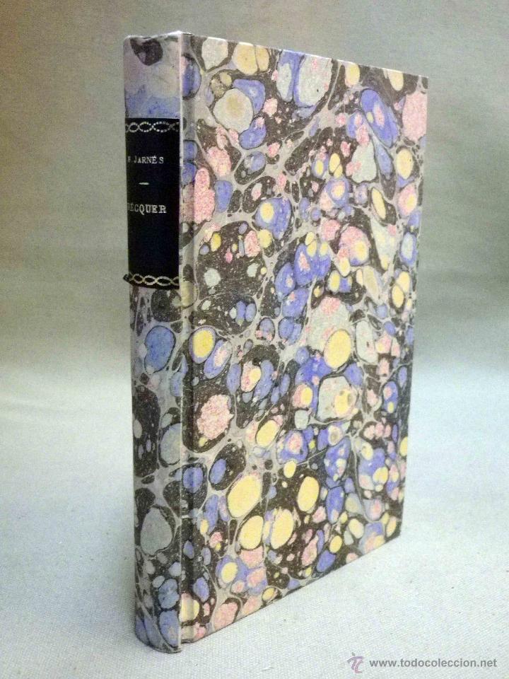Libros antiguos: LIBRO, DOBLE AGONIA DE BECQUER, BENJAMIN JARNES, ESPASA CALPE, 1ª EDICION, 1936 - Foto 3 - 53004880