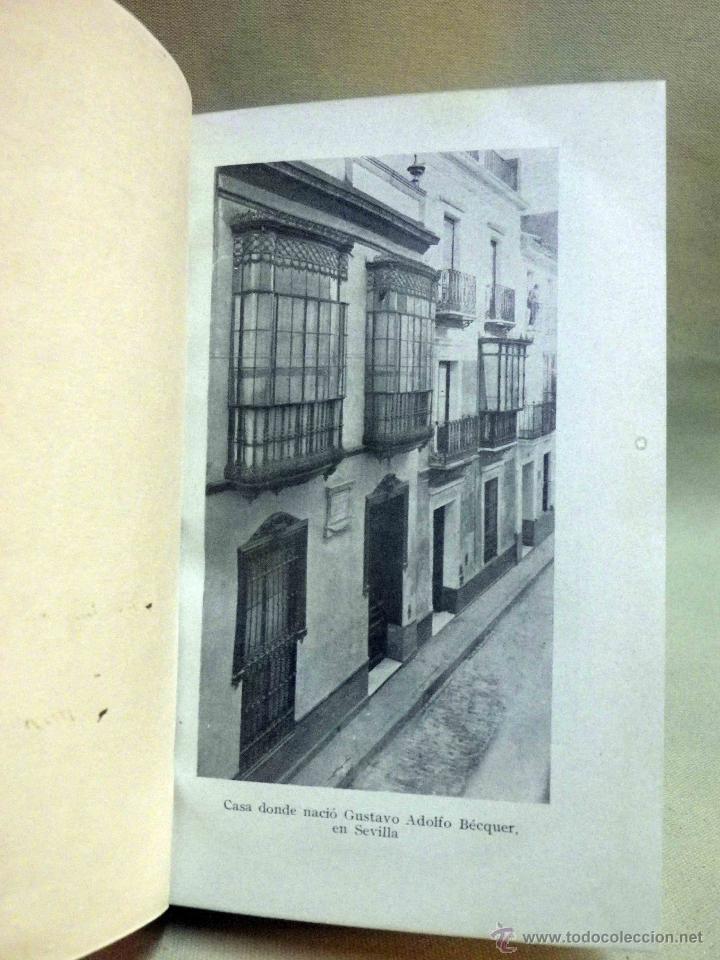 Libros antiguos: LIBRO, DOBLE AGONIA DE BECQUER, BENJAMIN JARNES, ESPASA CALPE, 1ª EDICION, 1936 - Foto 5 - 53004880