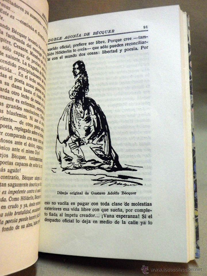 Libros antiguos: LIBRO, DOBLE AGONIA DE BECQUER, BENJAMIN JARNES, ESPASA CALPE, 1ª EDICION, 1936 - Foto 9 - 53004880