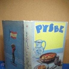 PYSBE. Recetas de bacalao. [1ª ed.] c.1936. Recetas de Nicolasa, Amparo, A. Azcoaga y F. Ibarguren