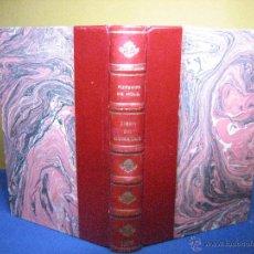 Libros antiguos: NOLA, RUPERTO DE. LIBRO DE GUISADOS. [1ª ED.] EDICIÓN Y ESTUDIO POR DIONISIO PÉREZ. 1929. Lote 54957961