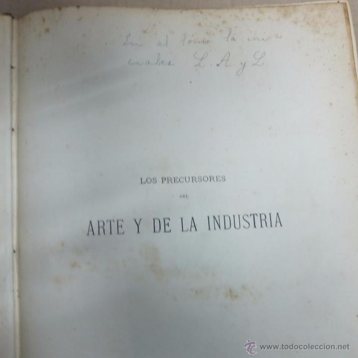 Libros antiguos: los precursores del arte y de la industria -j.g. wood -1886.550 pg - Foto 4 - 53051996