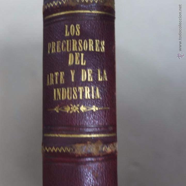 Libros antiguos: los precursores del arte y de la industria -j.g. wood -1886.550 pg - Foto 6 - 53051996