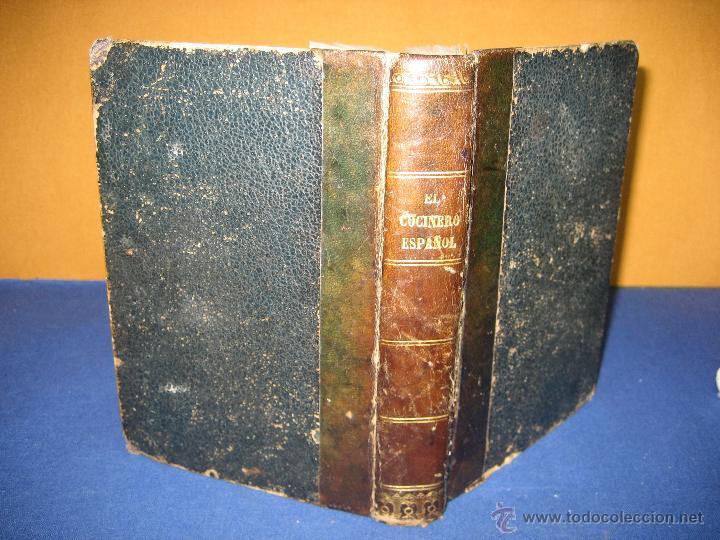 MOYANO, GUILLERMO. EL COCINERO ESPAÑOL Y LA PERFECTA COCINERA... 2ª ED. 1873 (Libros Antiguos, Raros y Curiosos - Cocina y Gastronomía)