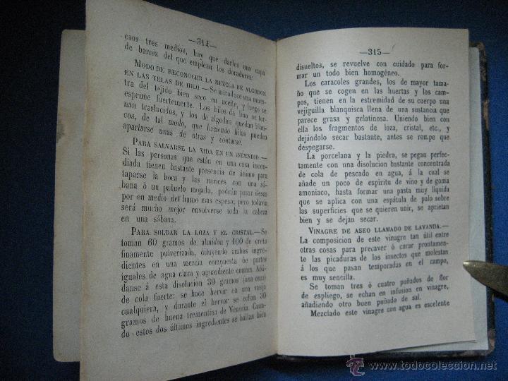 Libros antiguos: Moyano, Guillermo. El cocinero español y la perfecta cocinera... 2ª ed. 1873 - Foto 5 - 124619836