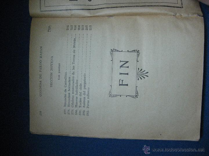 Libros antiguos: Pardo Bázan, condesa de. La cocina española antigua [2ª ed.] - Foto 3 - 53054659