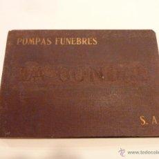 Libros antiguos: CATÁLOGO DE POMPAS FÚNEBRES LA VICTORIA, BARCELONA – PPIO. S.XX - ATAUDES, URNAS Y CATAFALCOS. Lote 53138941