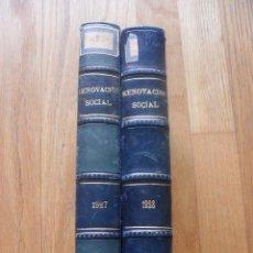 Alte Bücher - RENOVACION SOCIAL, 2 TOMOS Revista, 1927, 1928 - 53151692