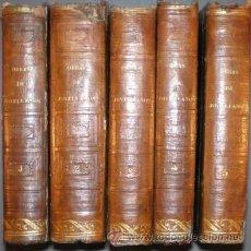 Libros antiguos: JOVELLANOS, GASPAR MELCHOR DE: OBRAS. 5 VOLS. 1845-1846. Lote 147695050