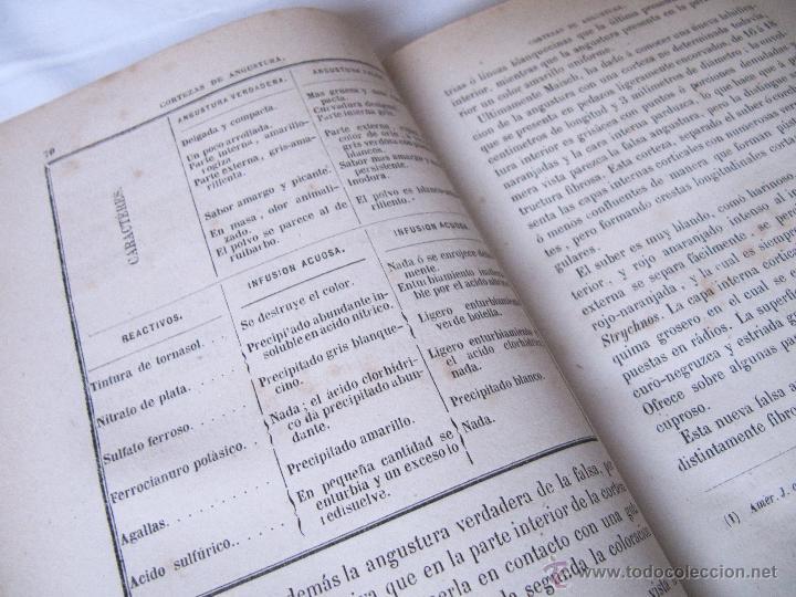 Libros antiguos: 1874 - LIBRO MANUAL DE FALSIFICACIONES - BAJO EL PUNTO DE VISTA FARMACEUTICO - FEDERICO PRATS GRAU - Foto 6 - 53243731