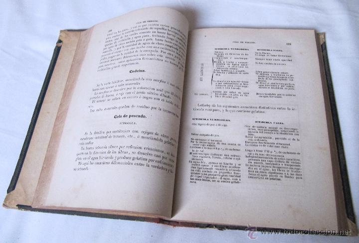 Libros antiguos: 1874 - LIBRO MANUAL DE FALSIFICACIONES - BAJO EL PUNTO DE VISTA FARMACEUTICO - FEDERICO PRATS GRAU - Foto 7 - 53243731