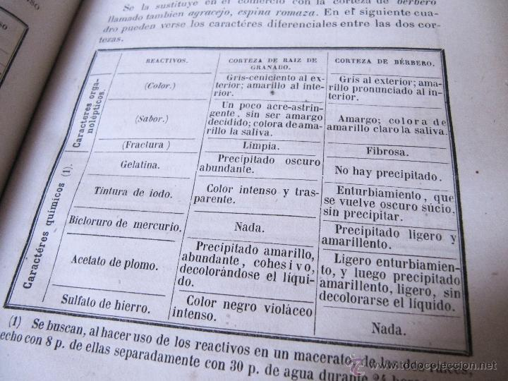 Libros antiguos: 1874 - LIBRO MANUAL DE FALSIFICACIONES - BAJO EL PUNTO DE VISTA FARMACEUTICO - FEDERICO PRATS GRAU - Foto 8 - 53243731