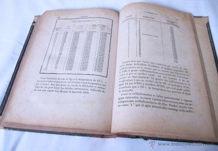 Libros antiguos: 1874 - LIBRO MANUAL DE FALSIFICACIONES - BAJO EL PUNTO DE VISTA FARMACEUTICO - FEDERICO PRATS GRAU - Foto 10 - 53243731