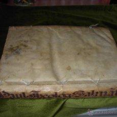 Libros antiguos: TRACTATUS. PERGAMINO-1726. Lote 53300245