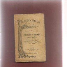 Libros antiguos: CONDE DE FABRAQUER ,PINTORES DE ANTAÑO BIOGRAFÍAS ANEDÓTICAS C.A. 1890 LIBRERIA AGUILAR .... Lote 53355936