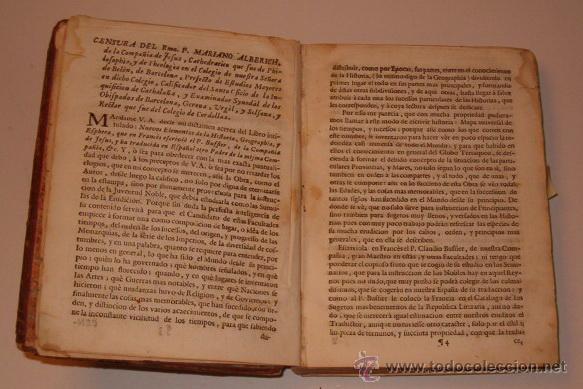 Libros antiguos: PADRE CLAUDIO BUFFIER. Nuevos elementos de la Historia Universal, Sagrada, y Profana. RM72491. - Foto 3 - 53368605