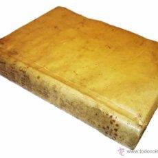 Libros antiguos: LIBRO TAPAS DE PERGAMINO.....AÑO...1.753....THEATRO CRITICO UNIVERSAL.. Lote 55899720