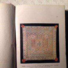 Libros antiguos: BORDADOS EN ESPAÑA 1924. ´POPULAR WEAVING AND EMBROIDERY IN SPAIN´ M STAPLEY 118 LÁMINAS. ARTESANÍA. Lote 53408939